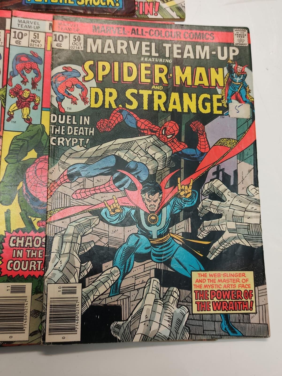 24 x Marvel comics. Marvel Team-Up featuring Spider-Man. 1977 - 1980. - Image 8 of 10