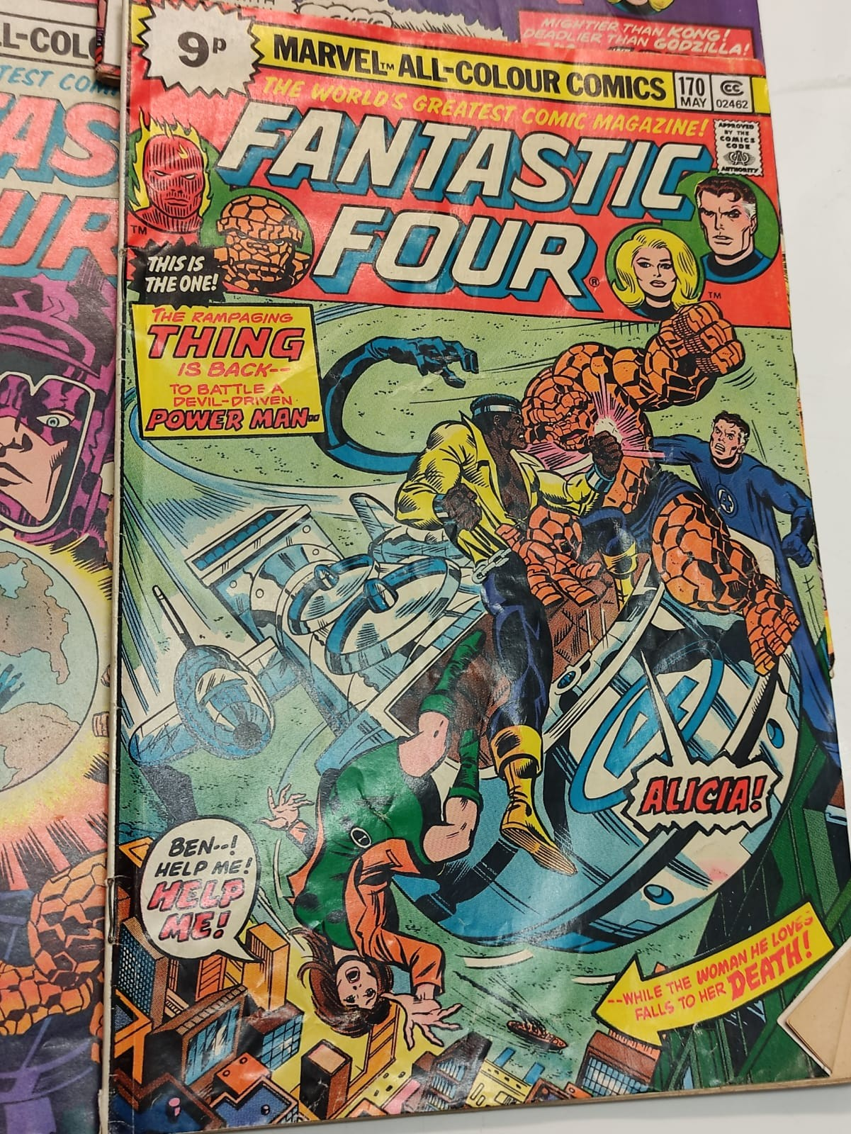 30x Marvel Fantastic four mid 1970s editions. Used, in good condition. - Image 14 of 17