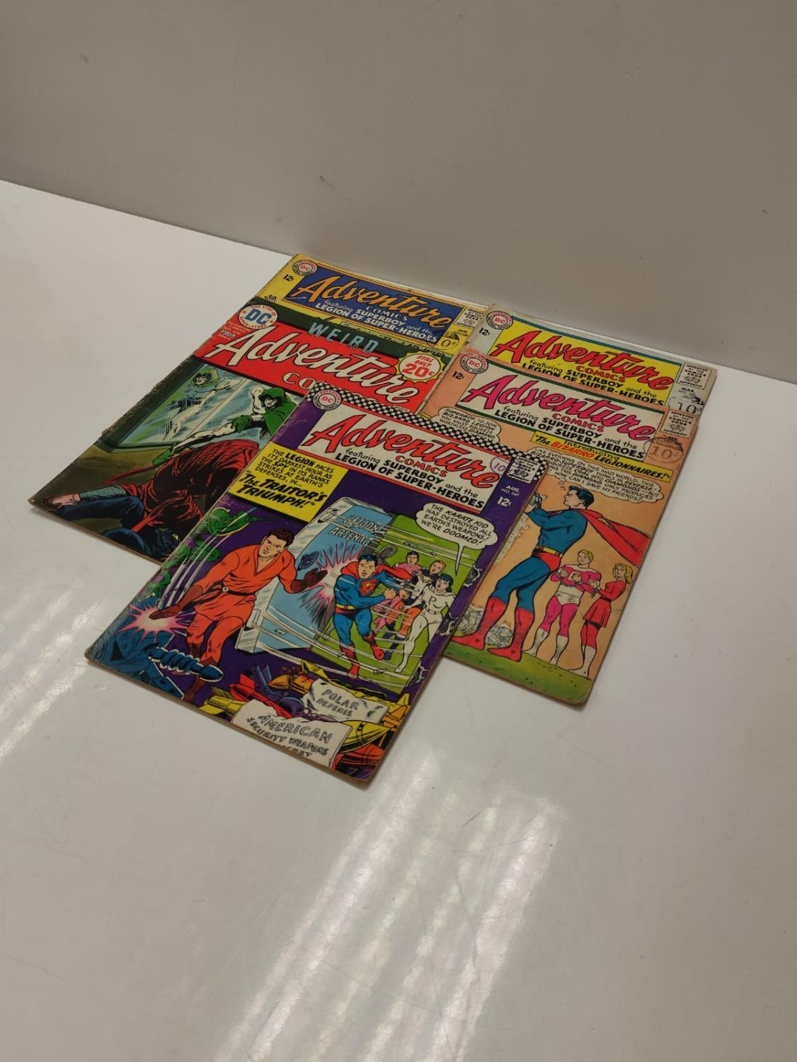 5 editions of DC Adventure Comics featuring Super-boy. - Image 4 of 19