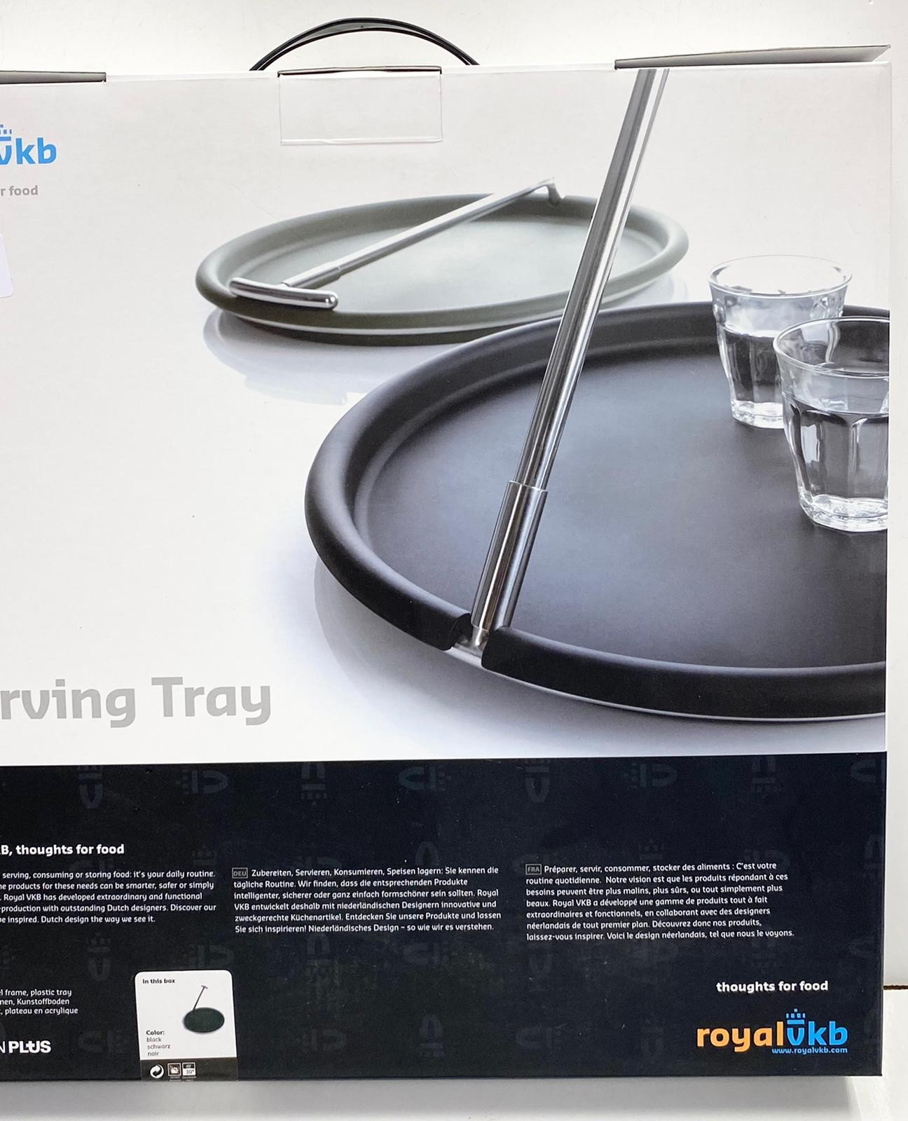Royal VKB self-balancing serving tray, designed by Gijs Bakkar. Brand new in box, unused. - Image 2 of 2