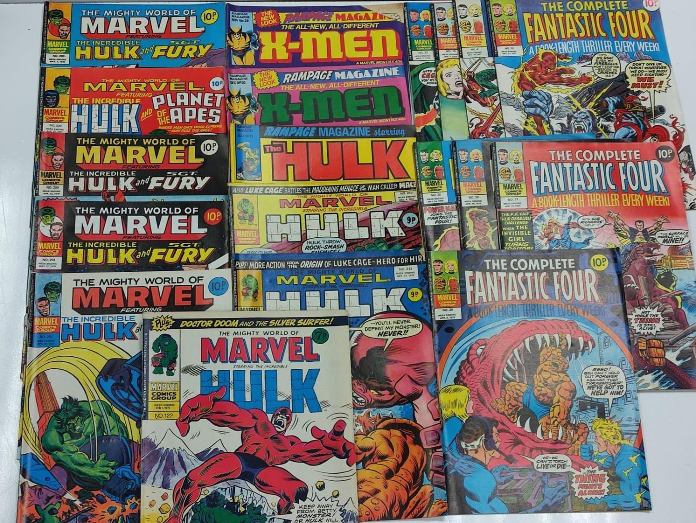 20 Mixed Vintage Marvel Comics. - Image 37 of 42