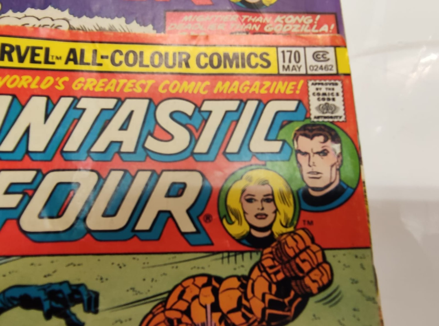 30x Marvel Fantastic four mid 1970s editions. Used, in good condition. - Image 12 of 17