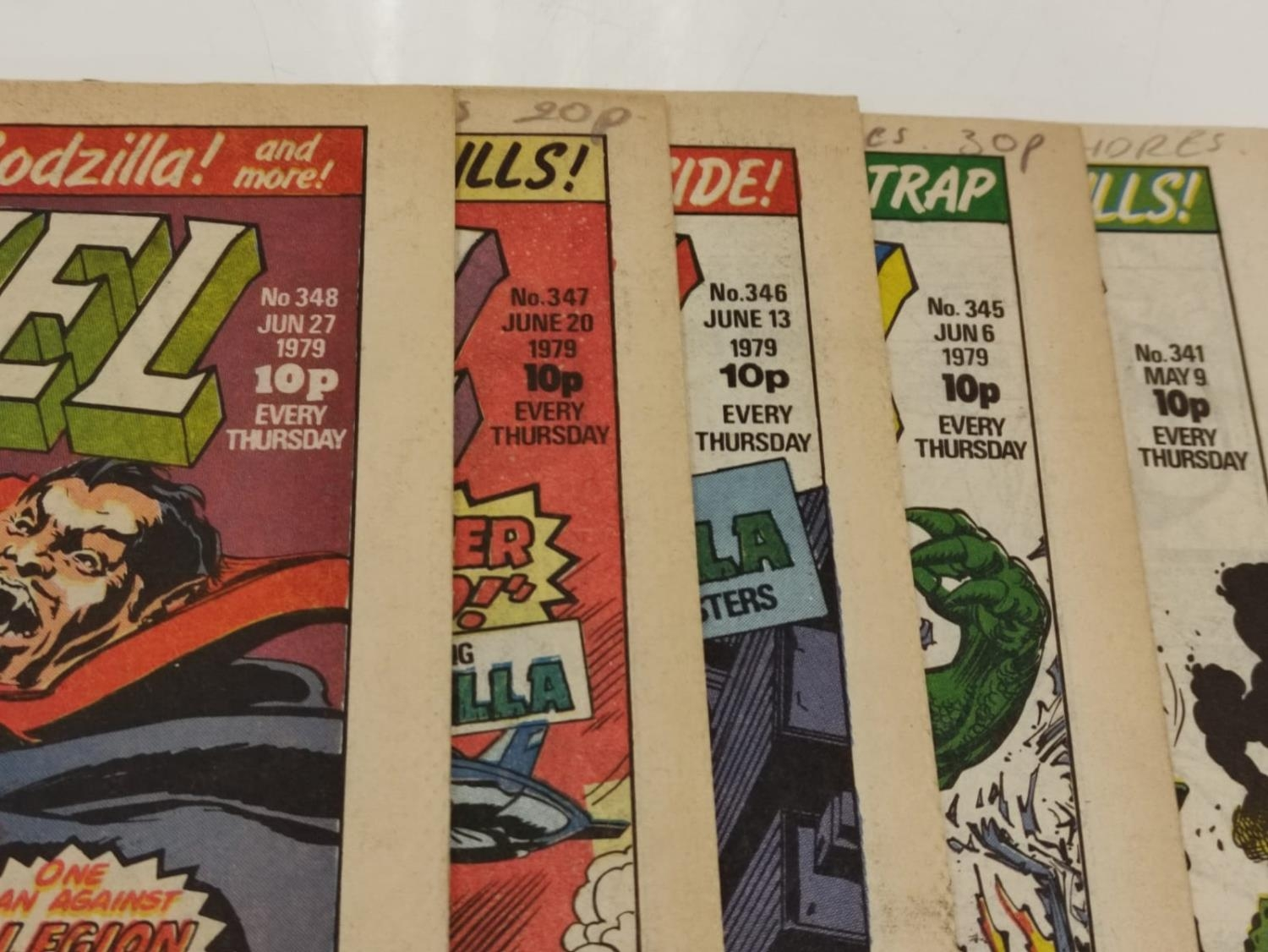 50 editions of Stan Lee Presents, a selection of 1979/1980's comics. - Image 63 of 71