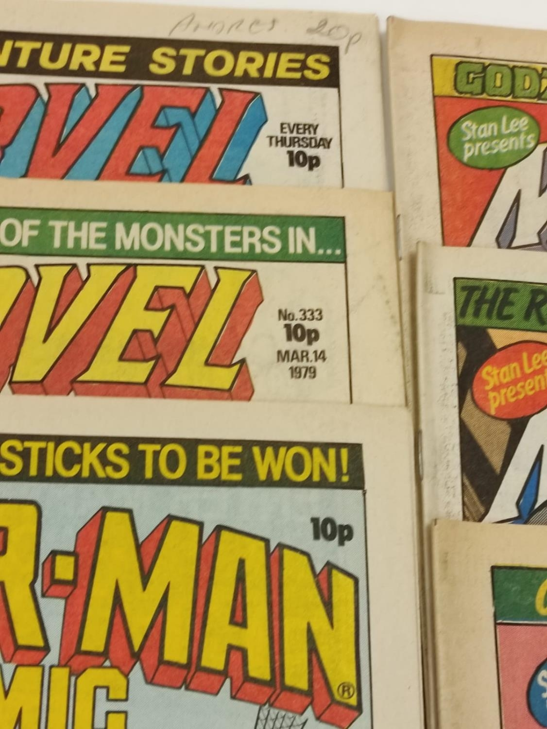 20 editions of mixed Vintage Marvel Comics. - Image 41 of 56
