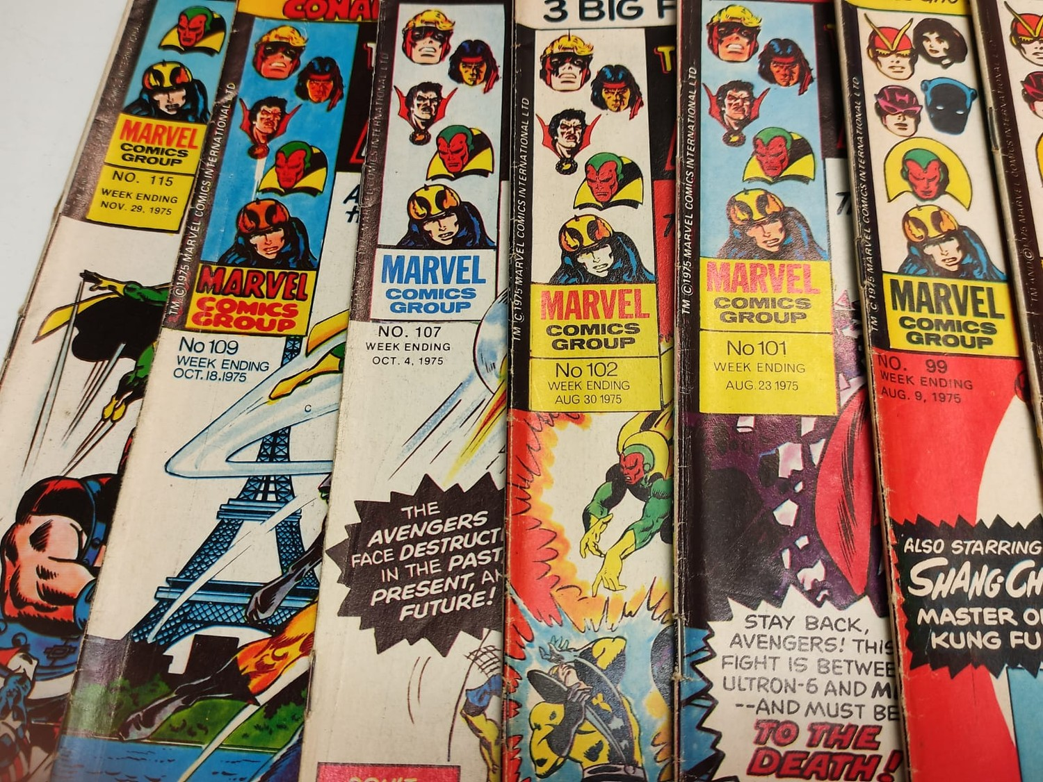 25 x Marvel comics. The Avengers. Dating from 1974-1976 - Image 6 of 18