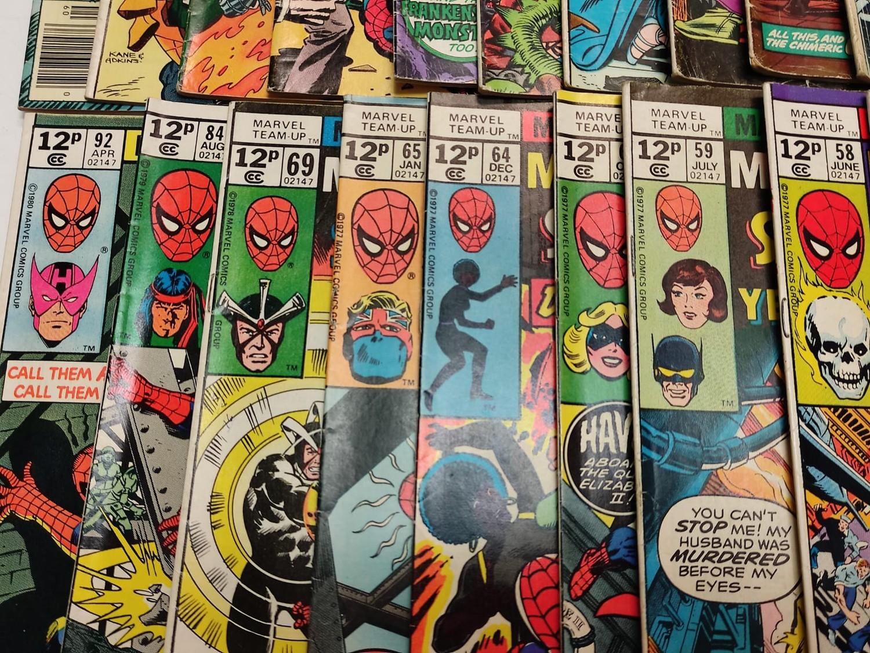 24 x Marvel comics. Marvel Team-Up featuring Spider-Man. 1977 - 1980. - Image 10 of 10