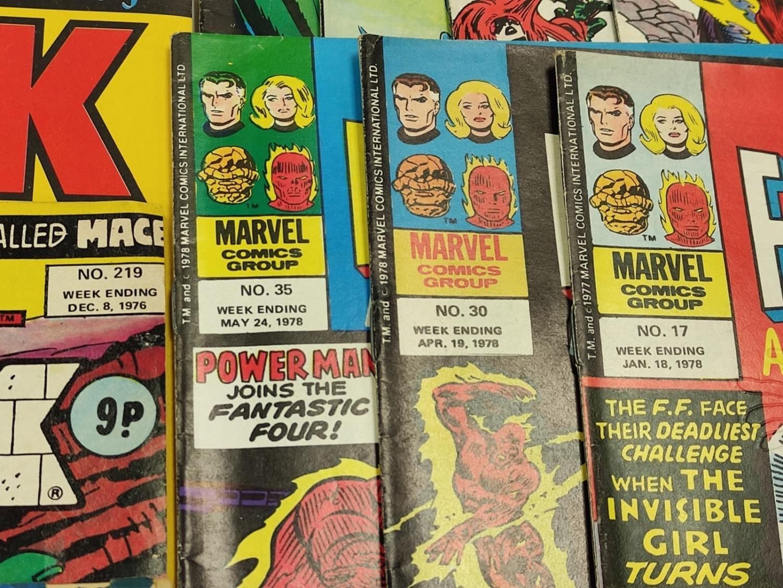 20 Mixed Vintage Marvel Comics. - Image 29 of 42