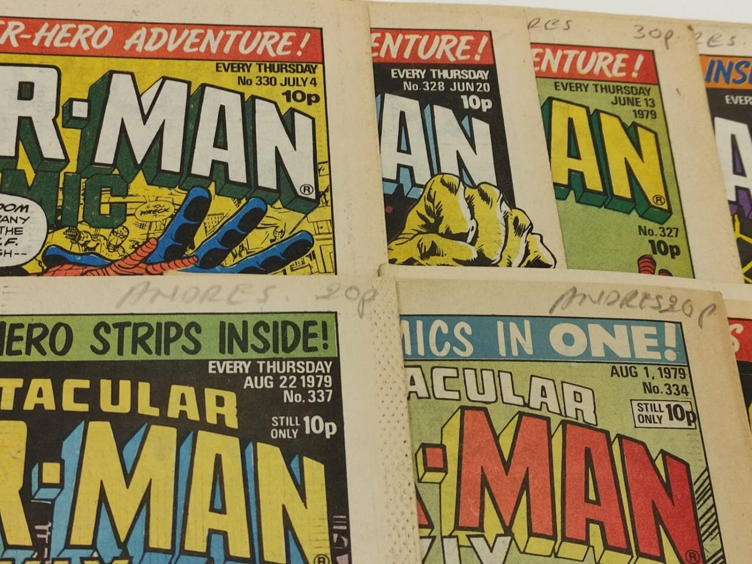 50 editions of Stan Lee Presents, a selection of 1979/1980's comics. - Image 52 of 71