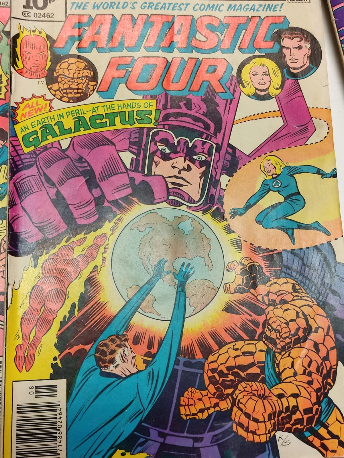30x Marvel Fantastic four mid 1970s editions. Used, in good condition. - Image 15 of 17