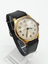 1940's OMEGA GENTS wrist WATCH in original box, very good condition, in full working order