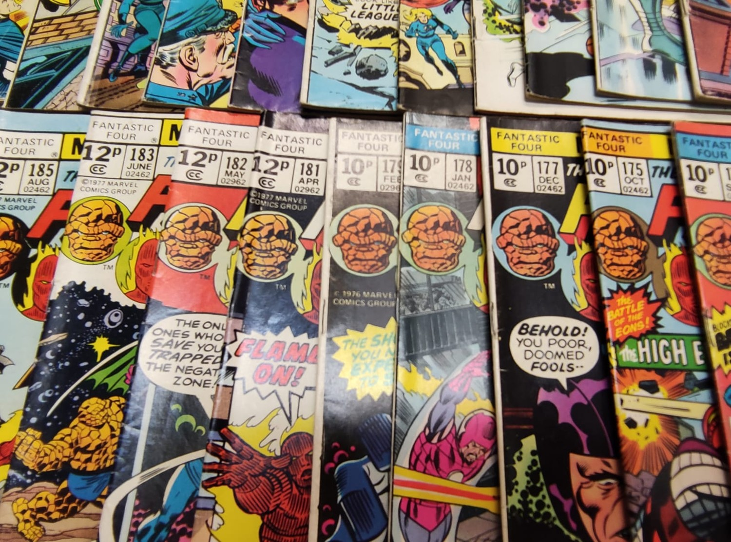 30x Marvel Fantastic four mid 1970s editions. Used, in good condition. - Image 8 of 17