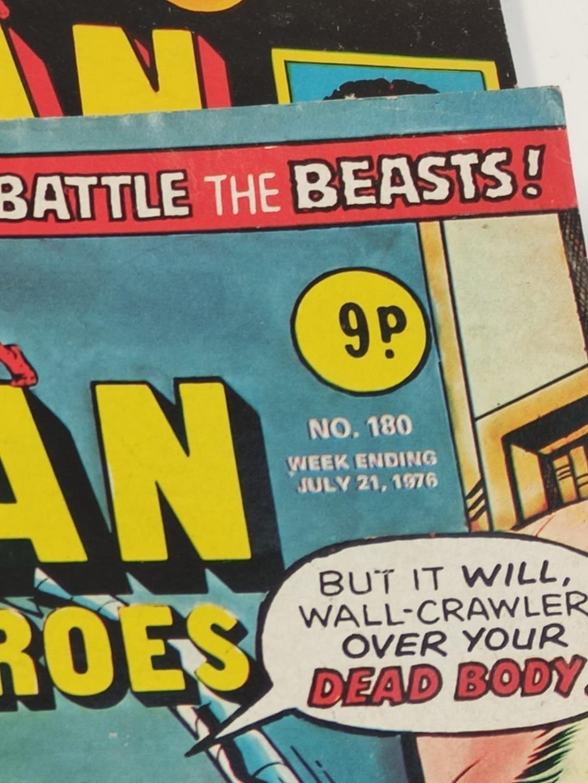 27 editions of Vintage Super Spider-Man Marvel Comics. - Image 8 of 13
