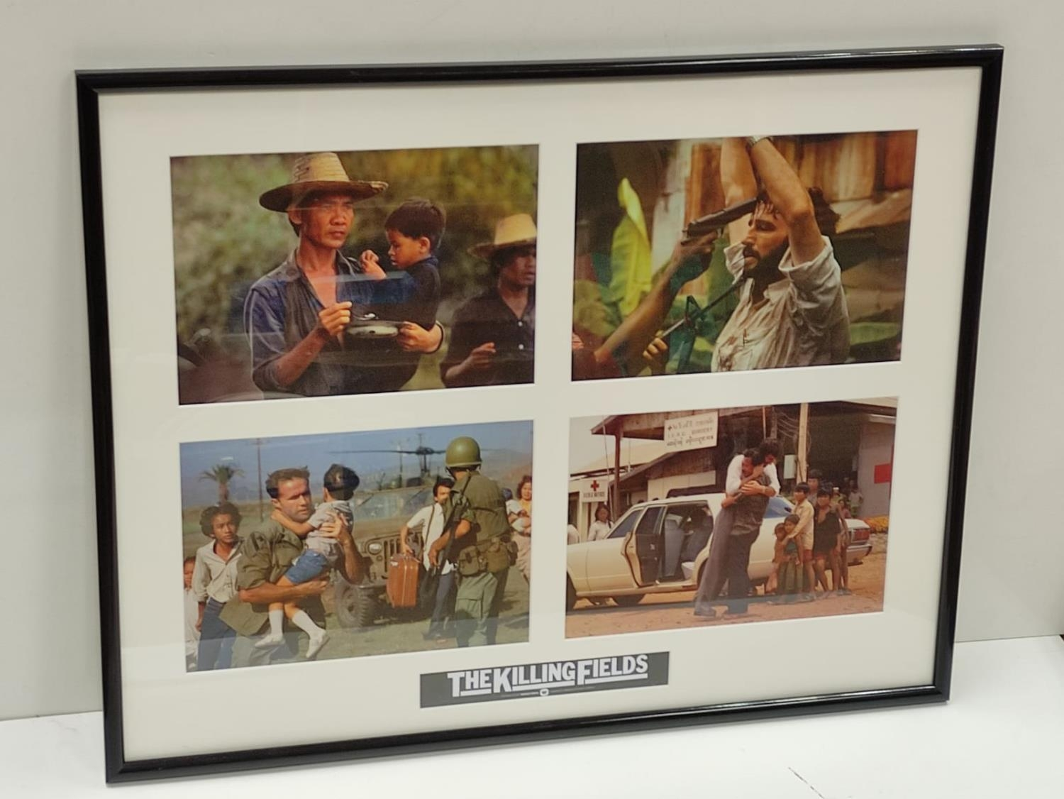 Framed and Glazed original film photographs from the film 'The Killing Fields'. Frame dimensions - Image 2 of 3