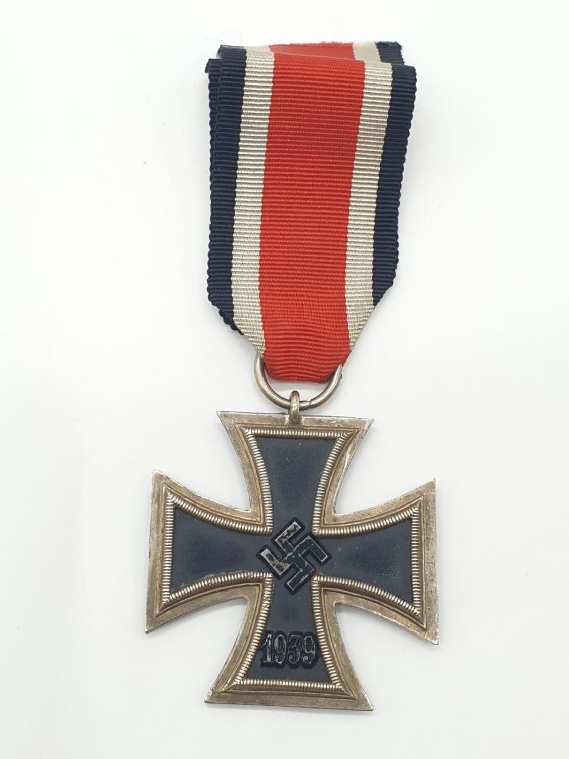 WW2 German Iron Cross 2nd Class. No makers marks but a typical Steinhaur & Luck example none the - Image 2 of 3