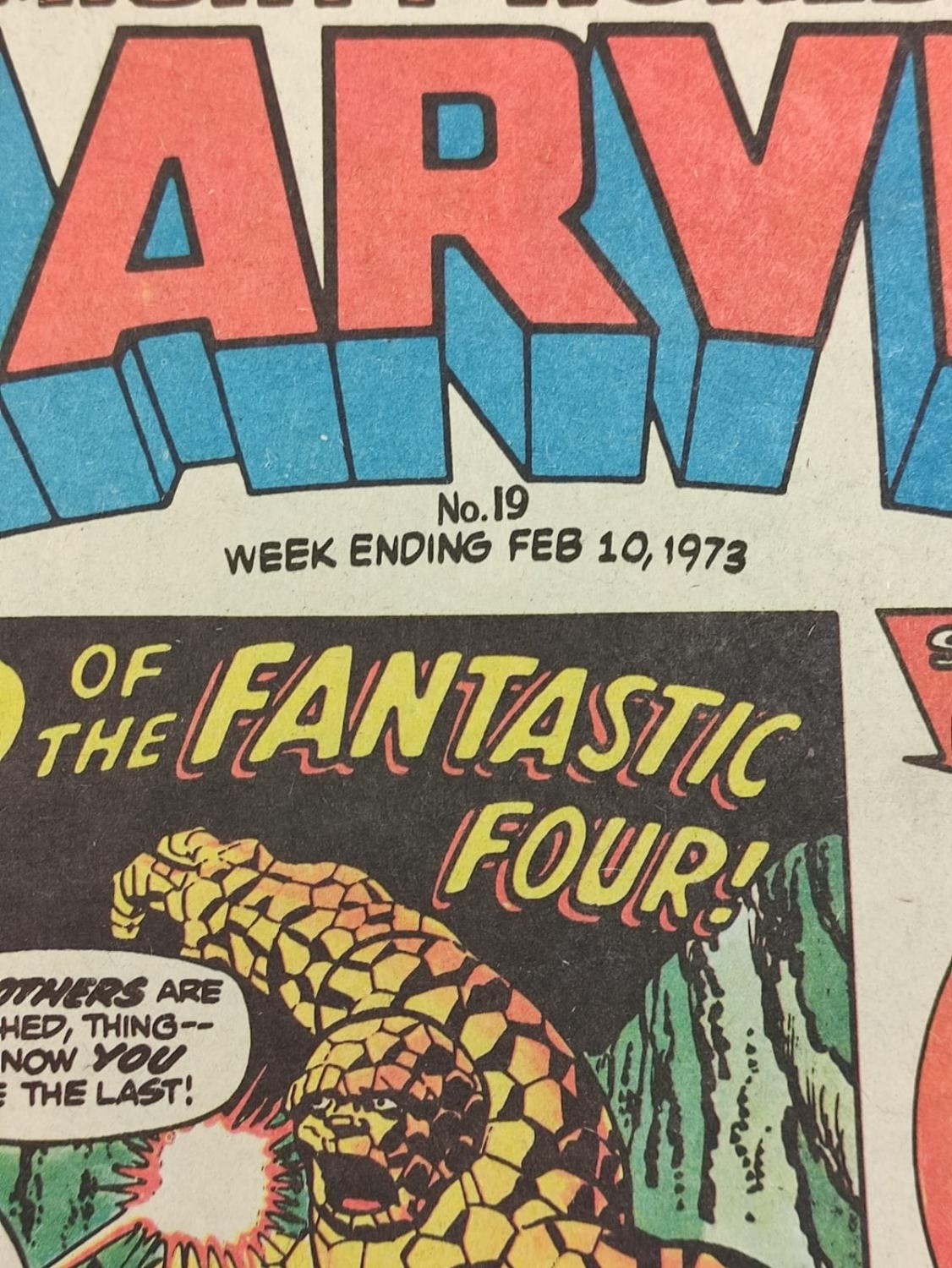 20 editions of mixed Vintage Marvel Comics. - Image 40 of 56