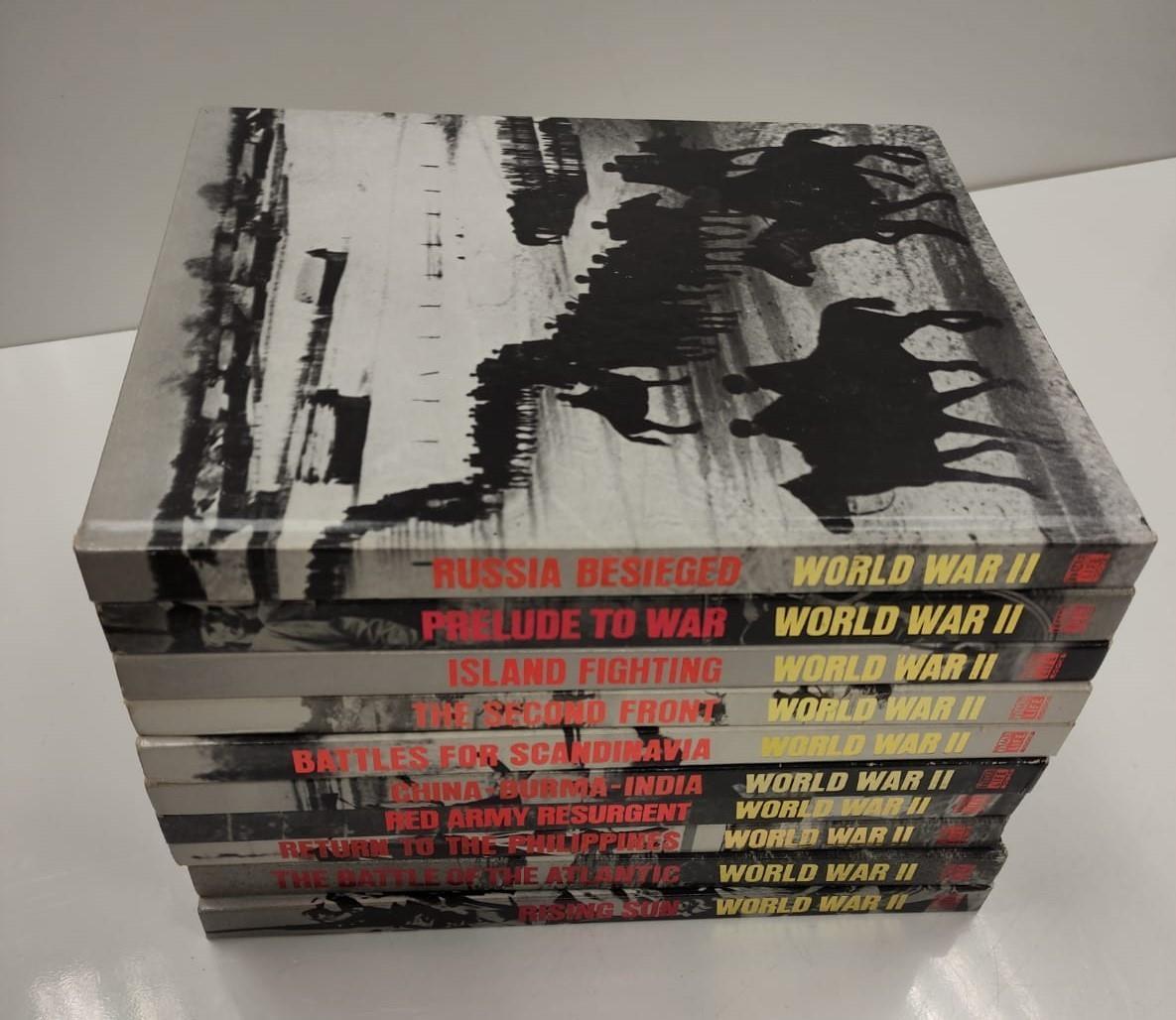 Set of Ten Timelife World War II Hard back books. - Image 10 of 12