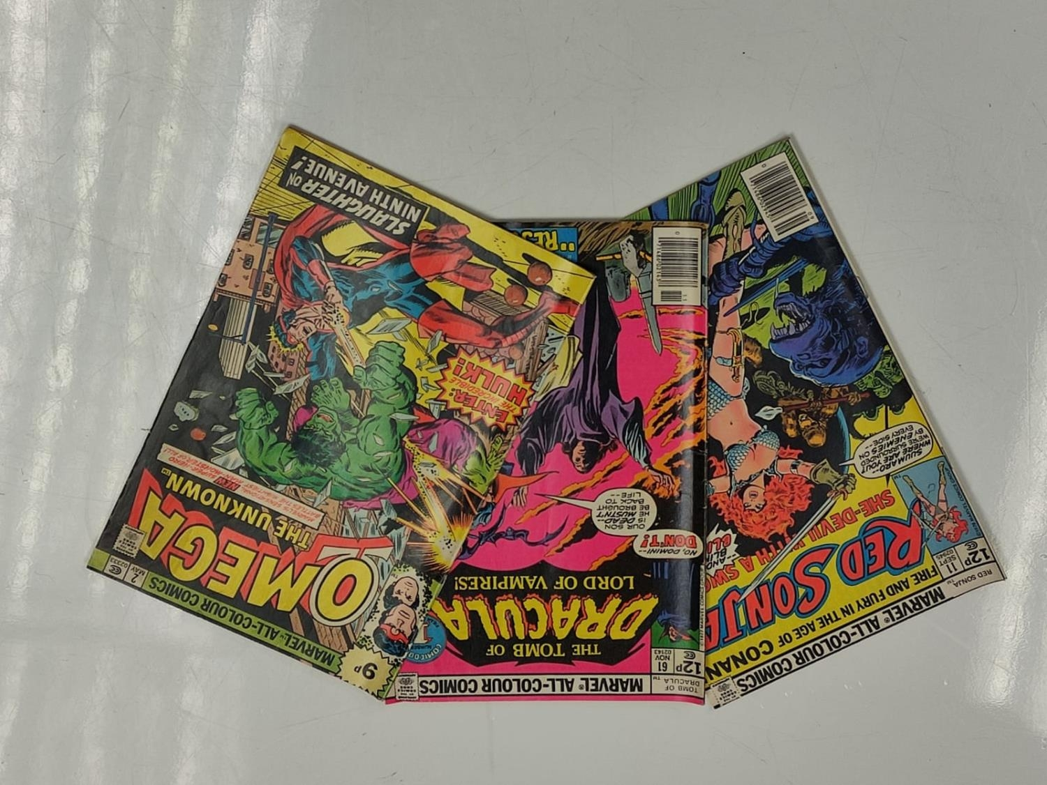 5 editions of Special Vintage Marvel Comics including 'The Tomb of Dracula'. - Image 10 of 15