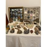 Large Collection of Crystal and Quartz Rocks of various sizes. Incredible selection from all parts