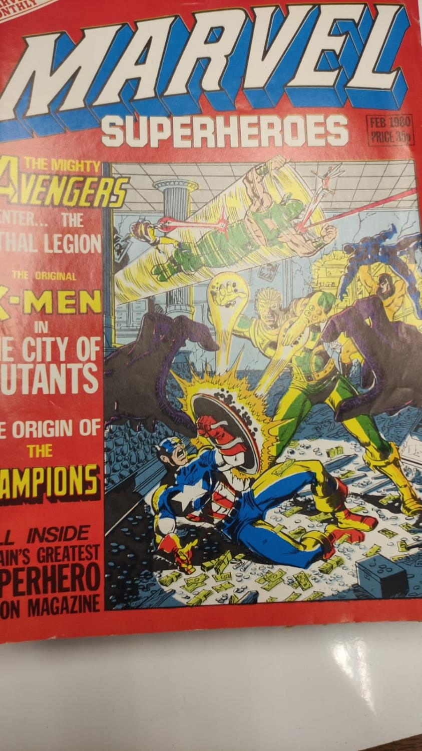 20 editions of mixed Vintage Marvel Comics. - Image 56 of 56