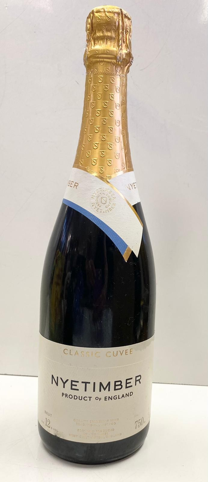 Nyetimber Classic Cuvee NV. Made in UK. 75cl. 12% Vol.