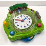 2005 Thomas & Friends 'Telling the Time' talking clock. Working Condition.