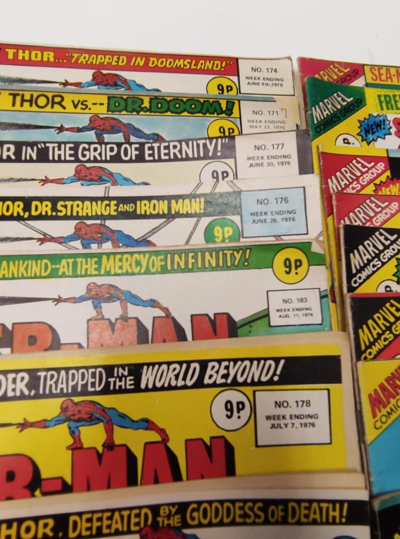 27 editions of Vintage Super Spider-Man Marvel Comics. - Image 10 of 13