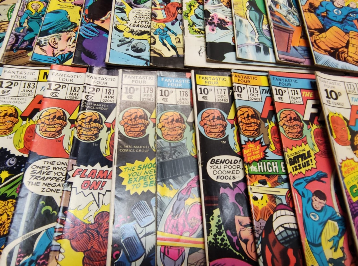 30x Marvel Fantastic four mid 1970s editions. Used, in good condition. - Image 9 of 17