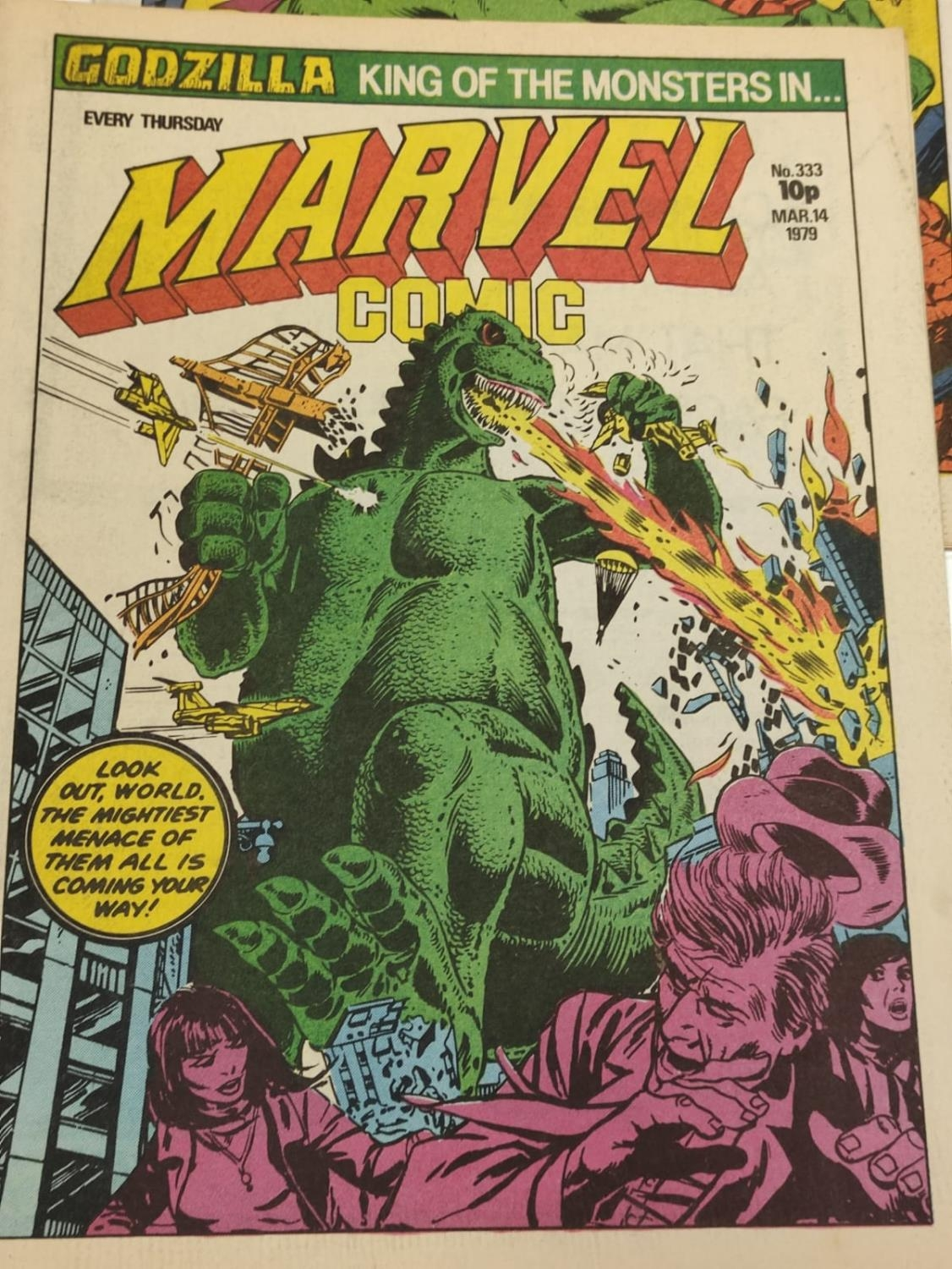 20 editions of mixed Vintage Marvel Comics. - Image 26 of 56