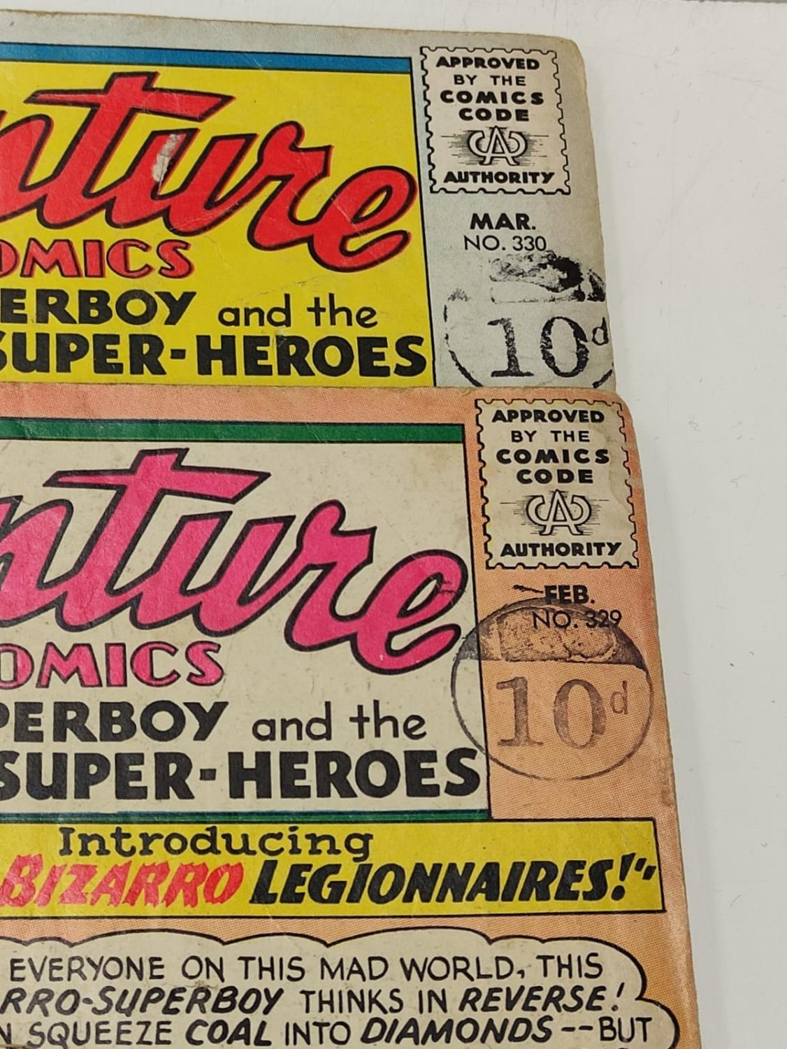 5 editions of DC Adventure Comics featuring Super-boy. - Image 17 of 19