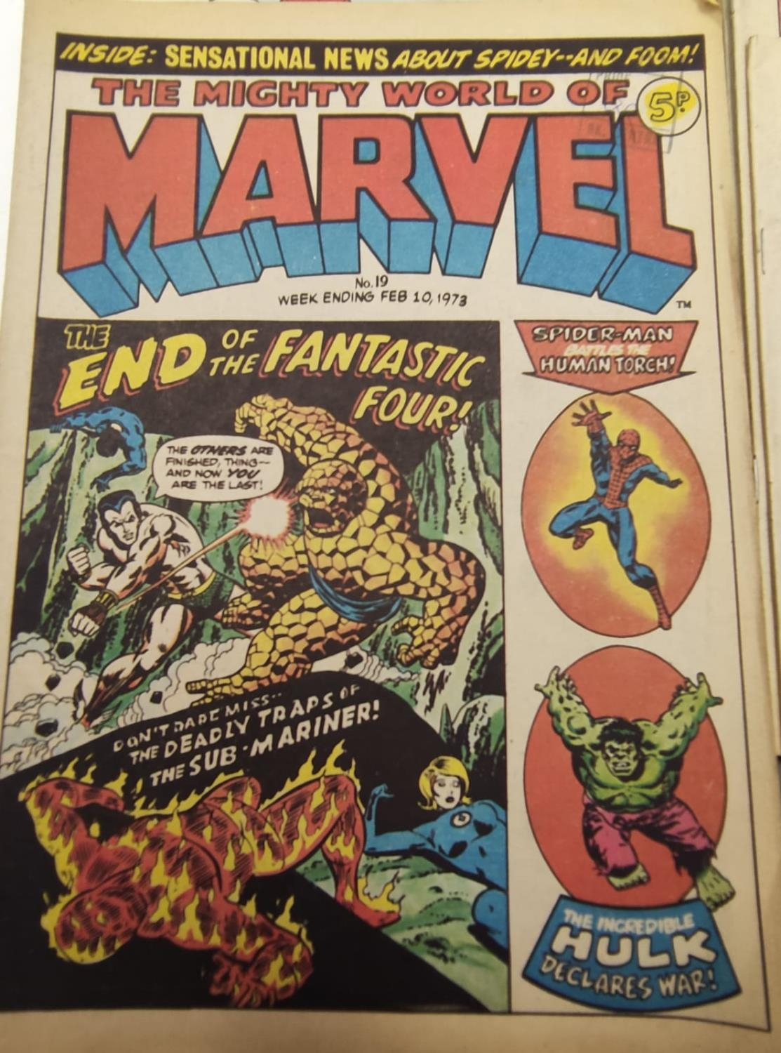 20 editions of mixed Vintage Marvel Comics. - Image 33 of 56
