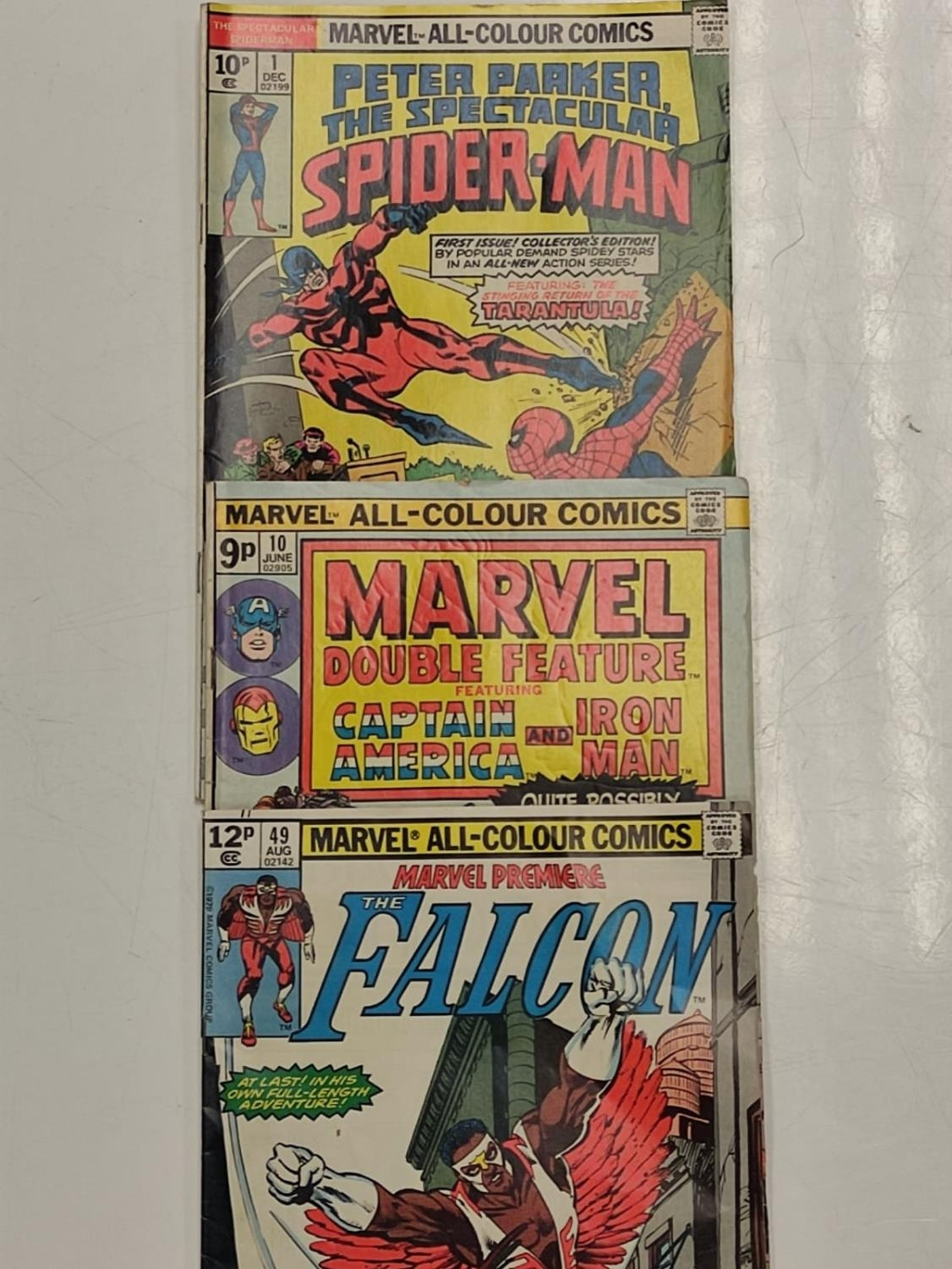 3 Eclectic Vintage Marvel Comics, including the rare 'Peter Parker, The Spectacular Spider-Man'. - Image 3 of 8