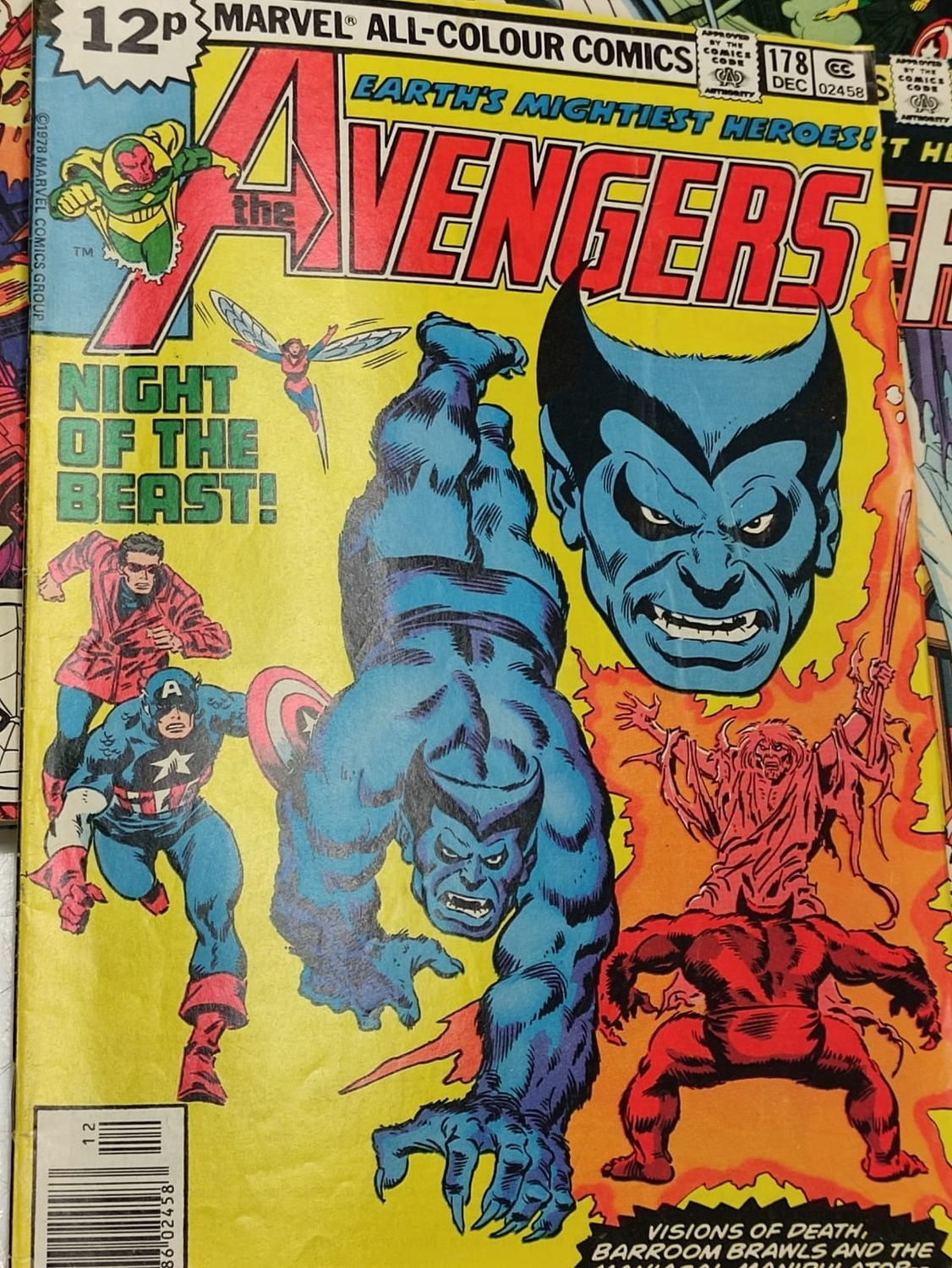 17 editions of Vintage Marvel 'The Avengers' comics in very good condition. - Image 3 of 12
