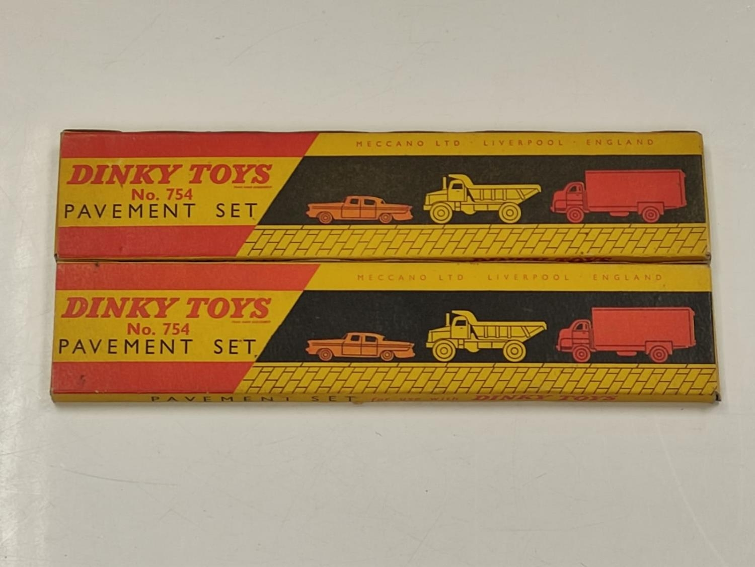Two Dinky toys boxed pavement sets. - Image 2 of 3