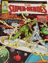 "22 x Vintage Marvel Comics ""The Super Heroes""."