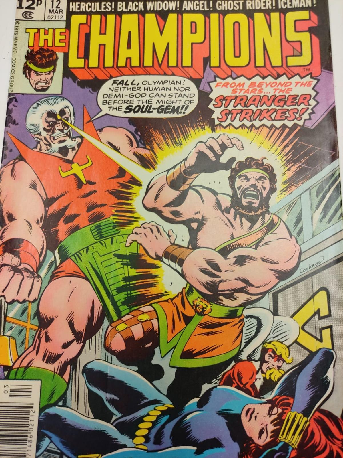 9 Copies of Vintage Marvel 'The Champion' Comics. - Image 12 of 14