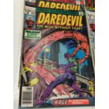 10 editions of Vintage Marvel 'Daredevil' Comics. (1970's)