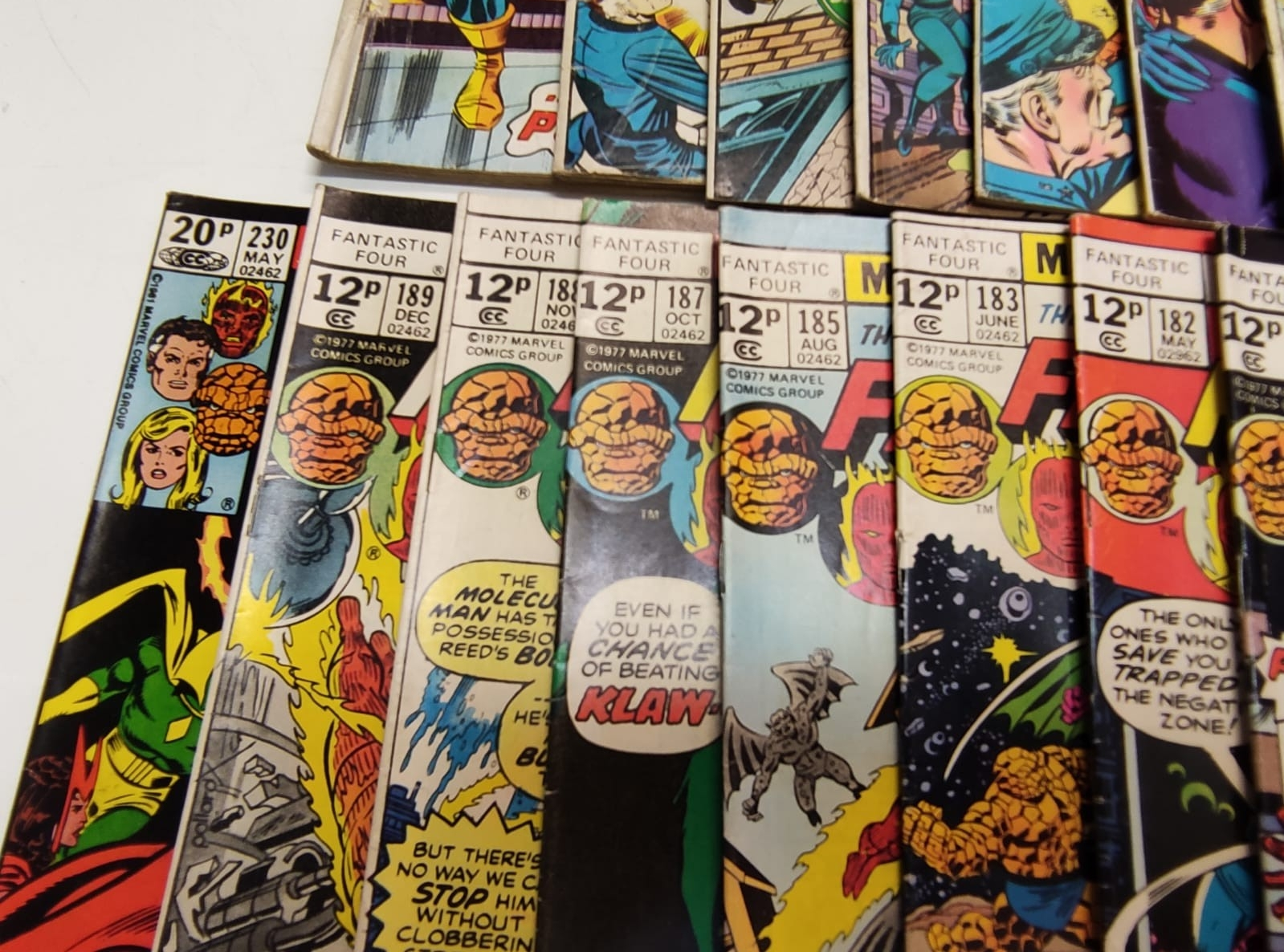 30x Marvel Fantastic four mid 1970s editions. Used, in good condition. - Image 6 of 17
