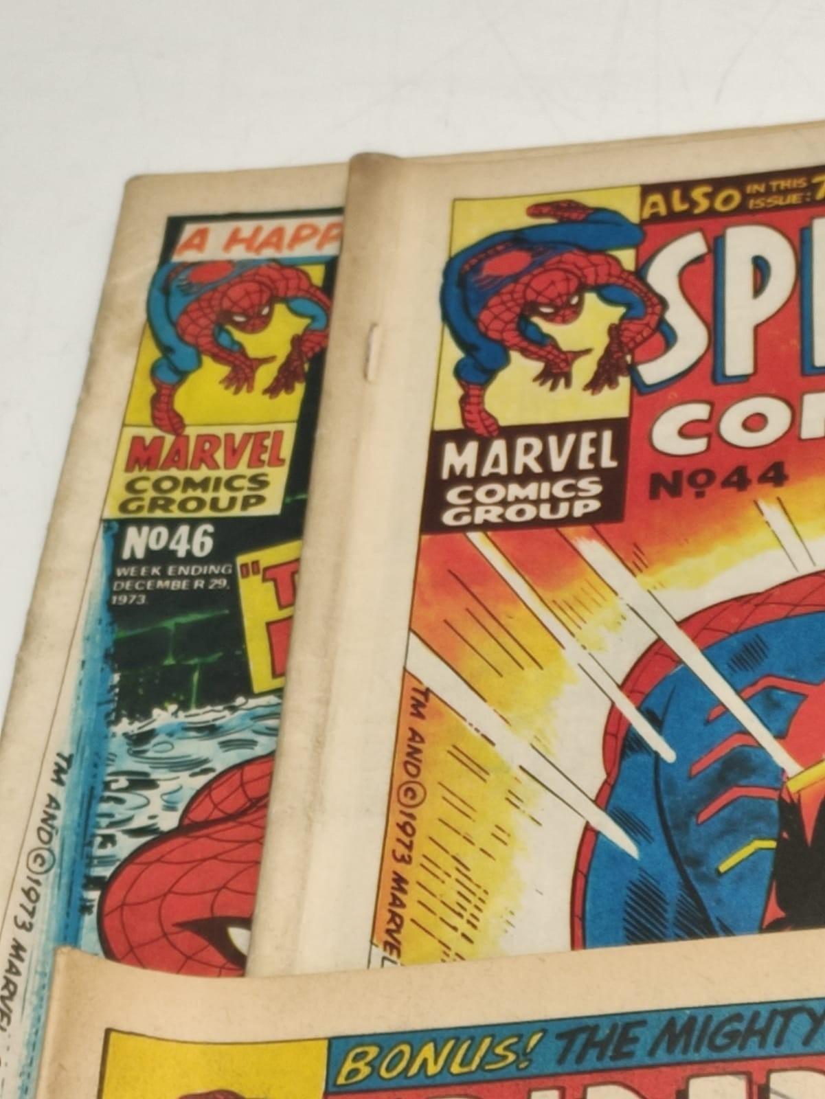 6 x Marvel comics. 1973 Spider-Man comics weekly. - Image 4 of 13