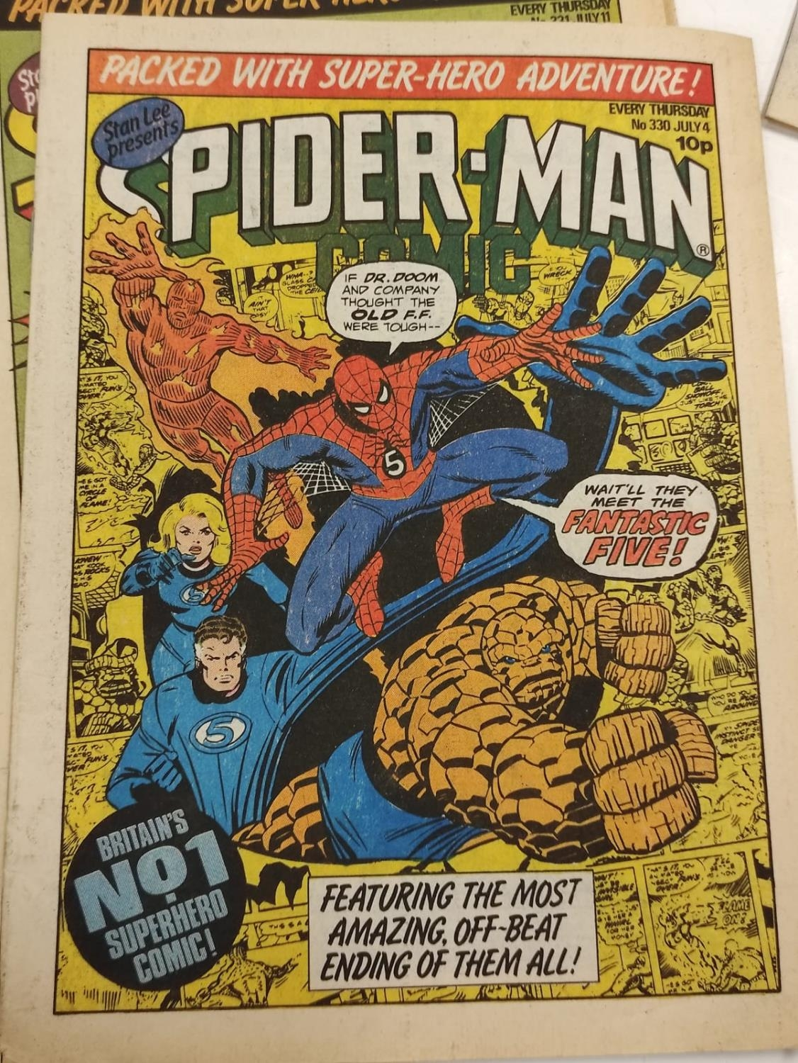 50 editions of Stan Lee Presents, a selection of 1979/1980's comics. - Image 65 of 71