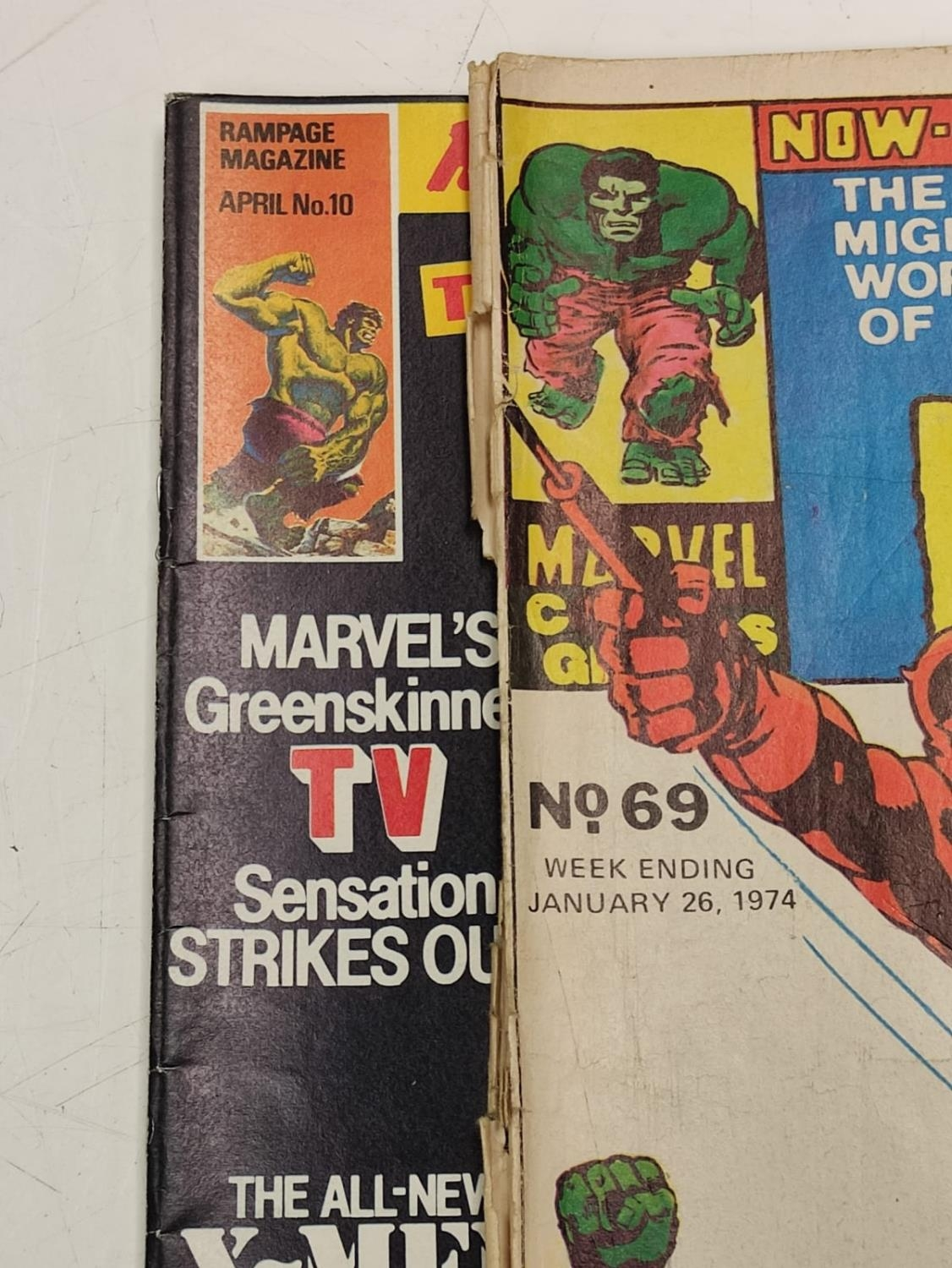 20 editions of mixed Vintage Marvel Comics. - Image 52 of 56