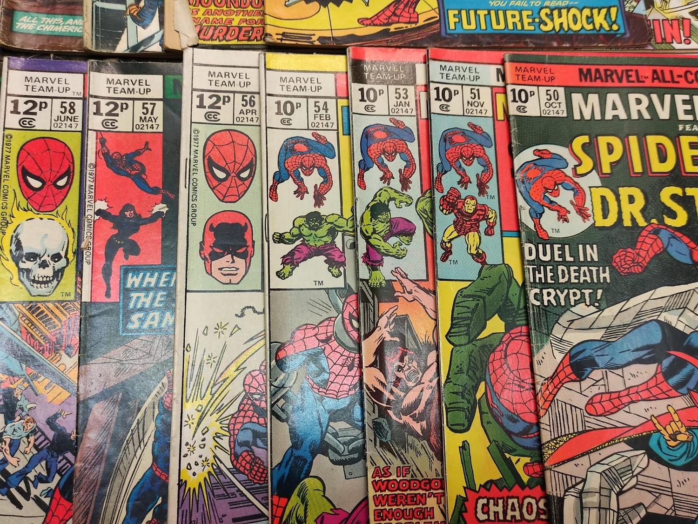 24 x Marvel comics. Marvel Team-Up featuring Spider-Man. 1977 - 1980. - Image 9 of 10