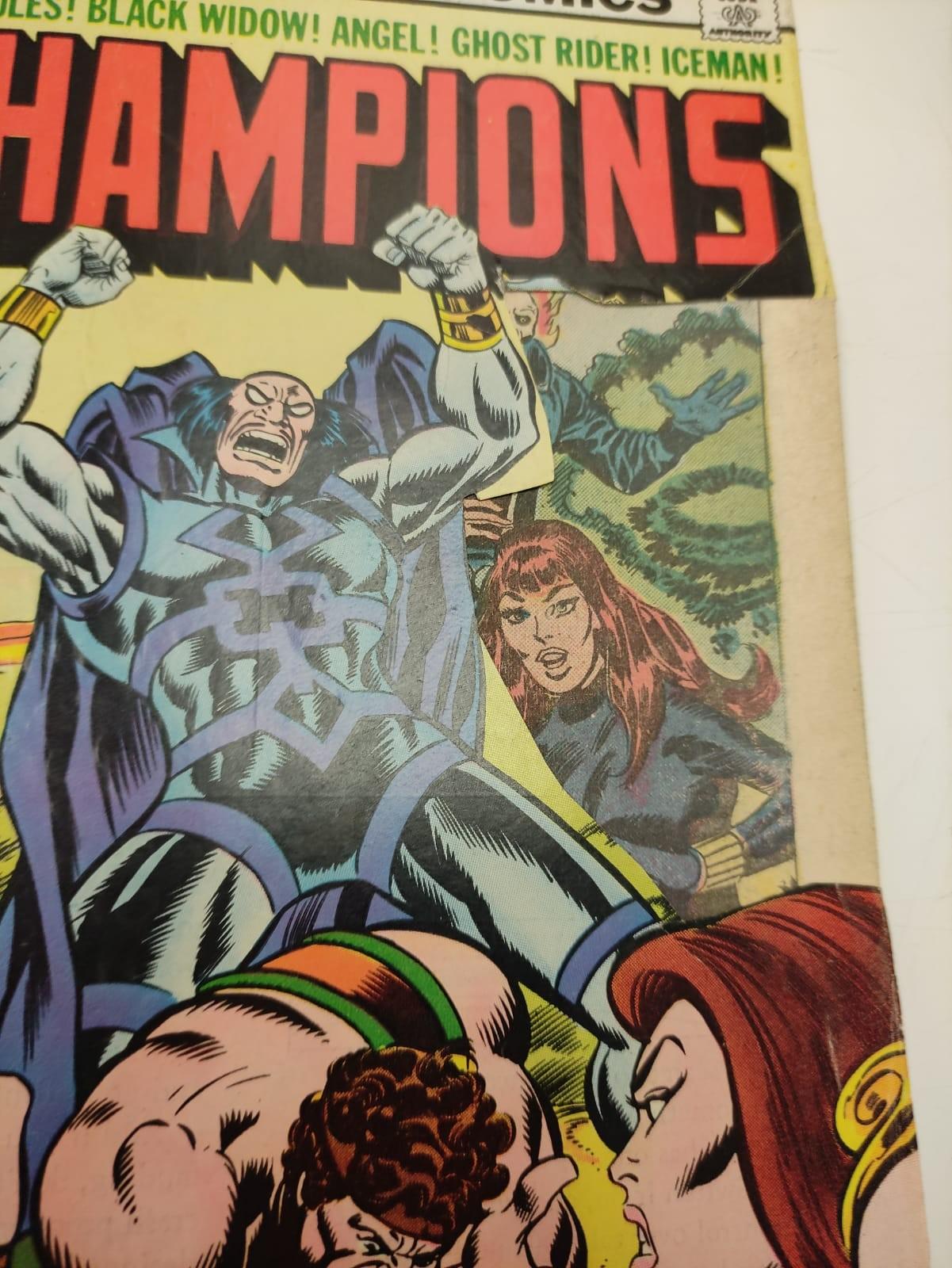 9 Copies of Vintage Marvel 'The Champion' Comics. - Image 11 of 14