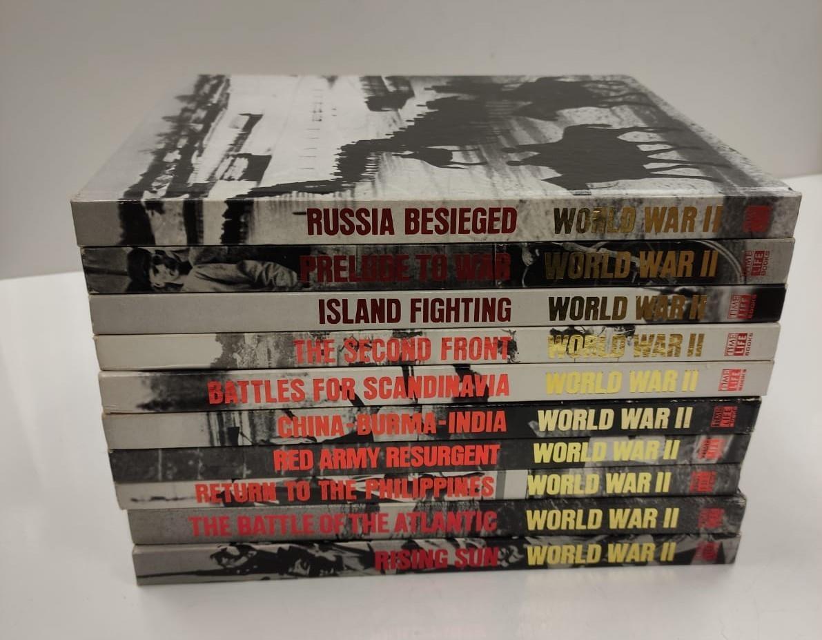 Set of Ten Timelife World War II Hard back books. - Image 9 of 12