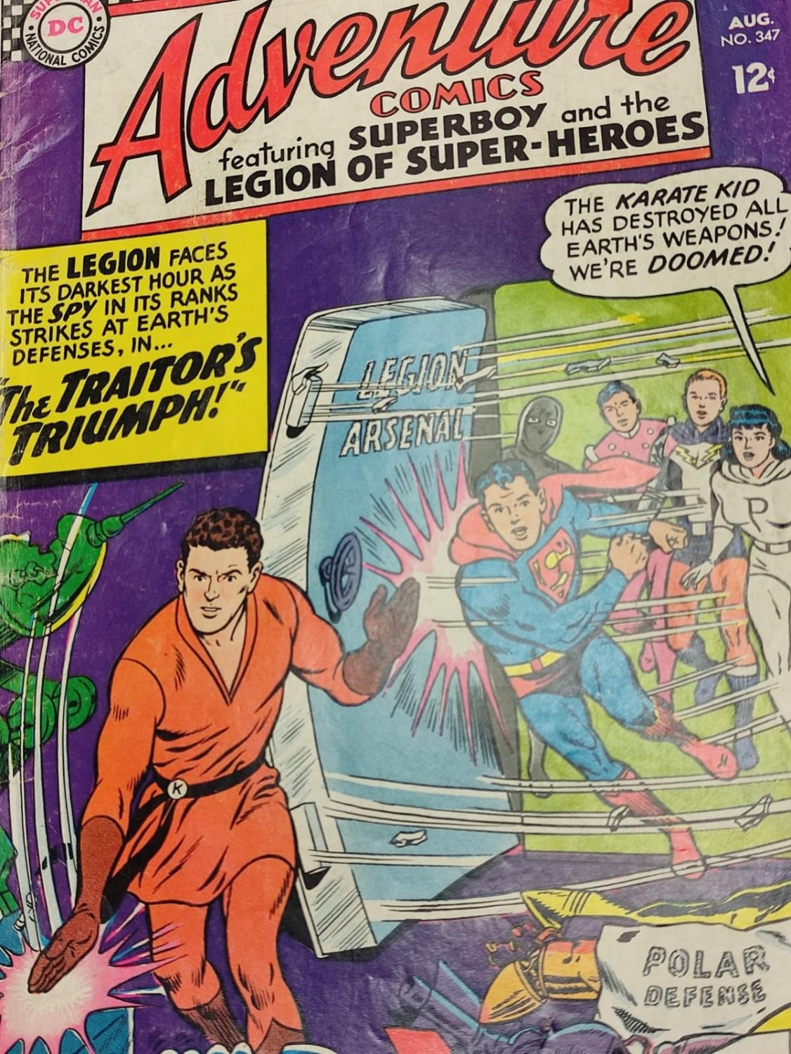 5 editions of DC Adventure Comics featuring Super-boy. - Image 3 of 19