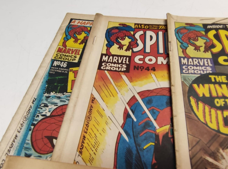 6 x Marvel comics. 1973 Spider-Man comics weekly. - Image 5 of 13