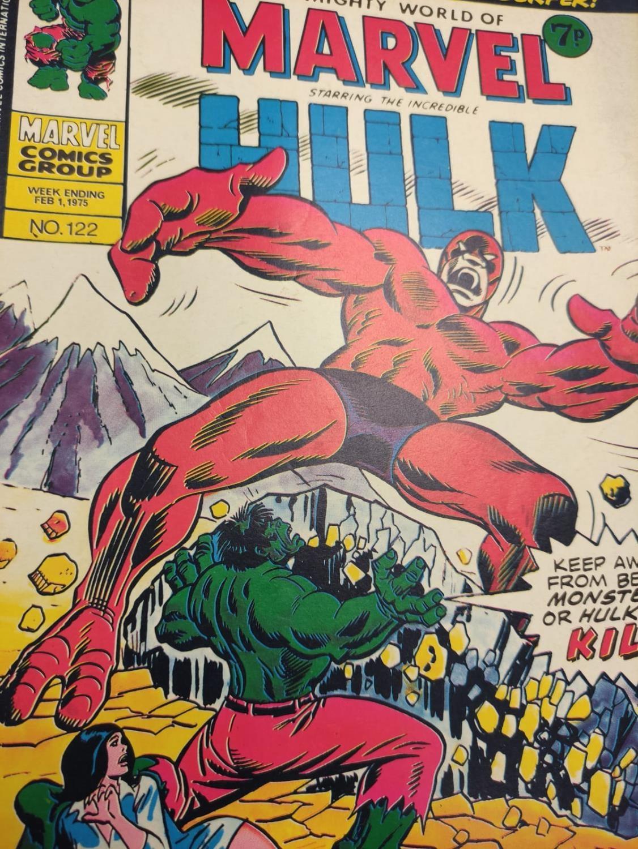 20 Mixed Vintage Marvel Comics. - Image 39 of 42