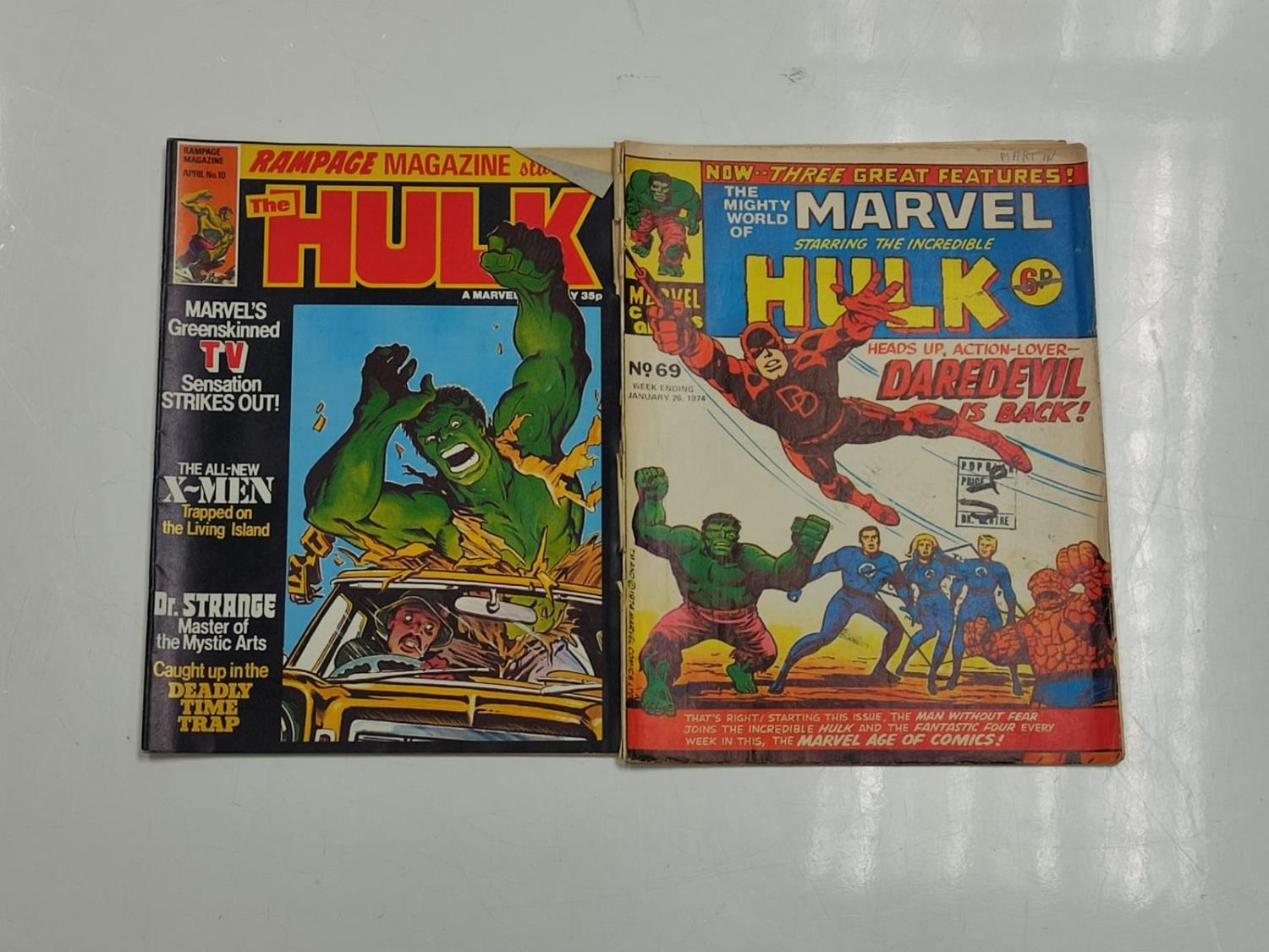 20 editions of mixed Vintage Marvel Comics. - Image 53 of 56
