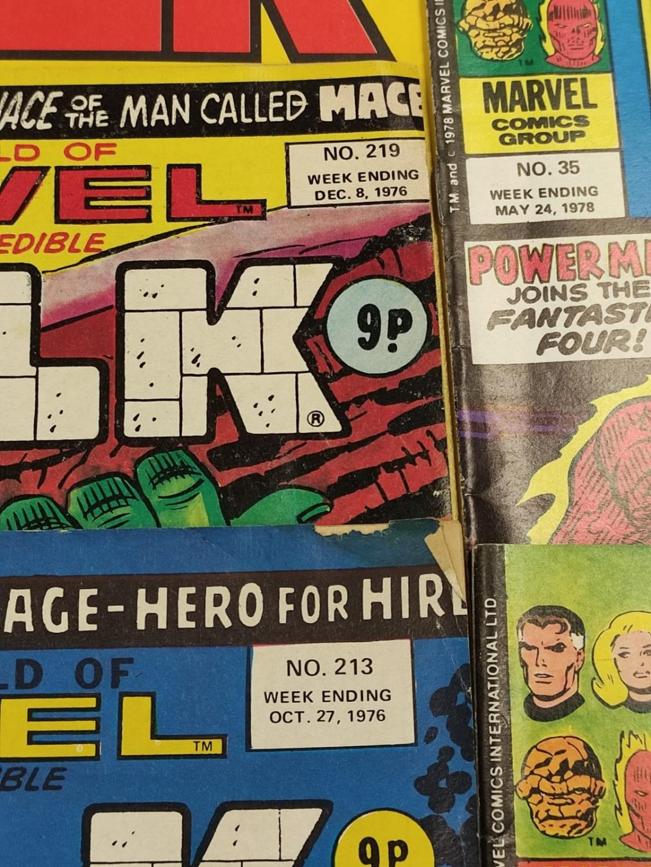 20 Mixed Vintage Marvel Comics. - Image 20 of 42