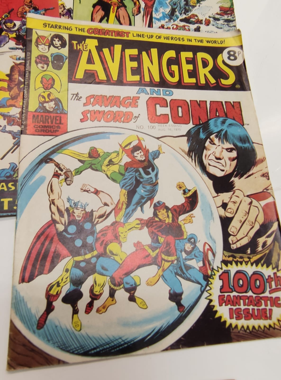 25 x Marvel comics. The Avengers. Dating from 1974-1976 - Image 16 of 18
