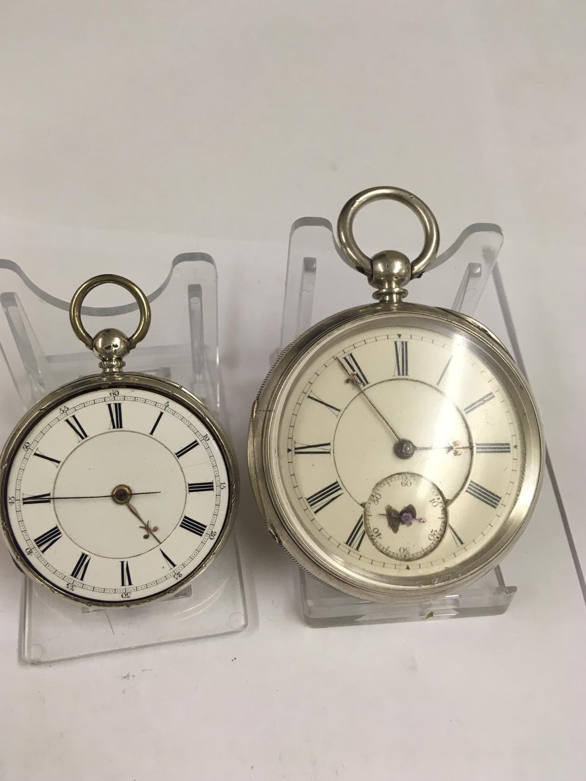 Antique silver pocket watches AF